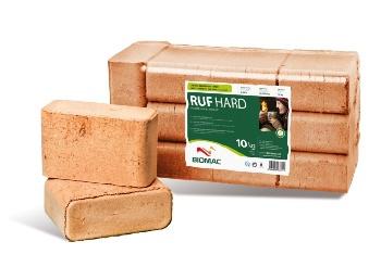Dřevěné brikety RUFHard
