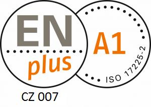 Dřevěné pelety ENplus A1 6mm